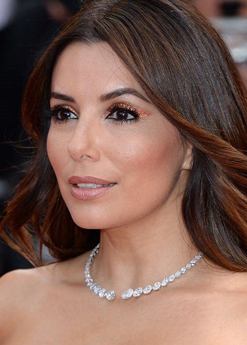 Eva Longoria eye makeup