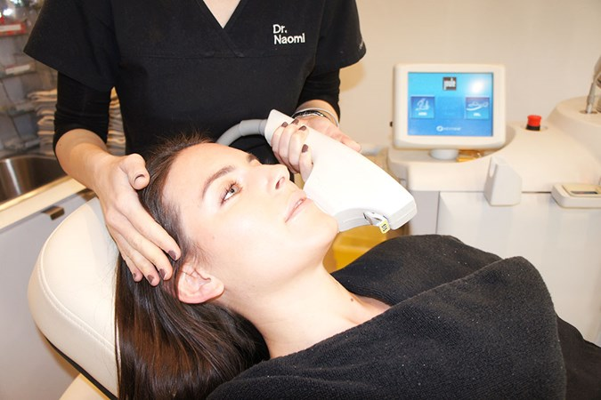 Intense Pulsed Light (IPL) treatment at Dr. Naomi's Clinic