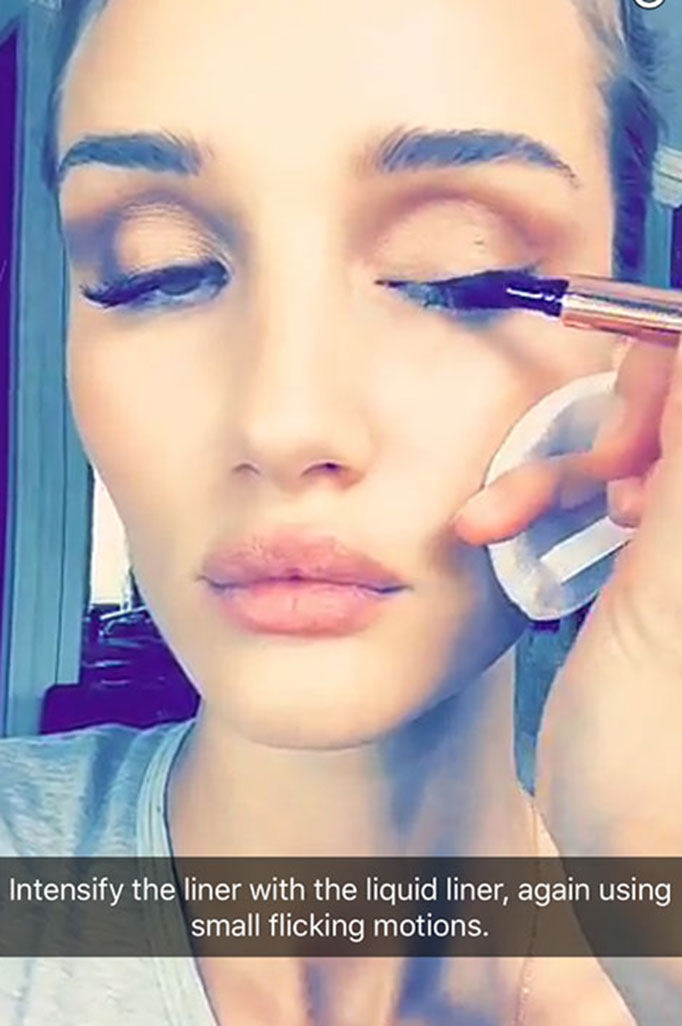 Celebrity Beauty Rituals Revealed Snapchat Crew