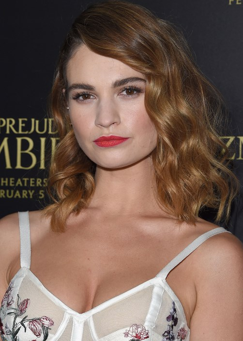 Lily James' Eyebrow Secrets