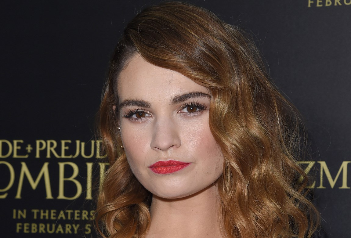 Lily James Eyebrow Secrets Beautycrew