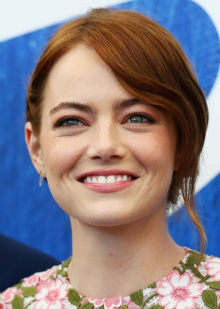 Emma Stone's Gorgeous Updo At The Venice Film Festival ...