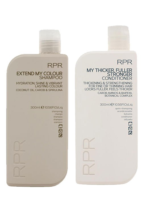 RPR Extend My Colour Shampoo and RPR My Thicker, Fuller, Stronger Conditioner
