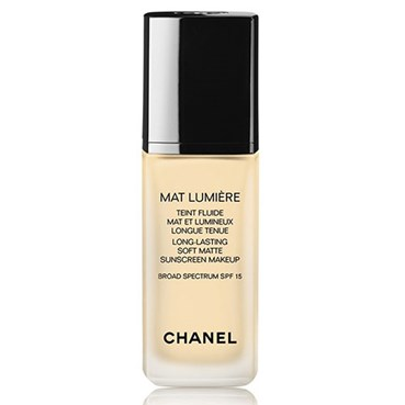 CHANEL Mat Lumiére Long Lasting Luminous Matte Fluid Makeup SPF 15