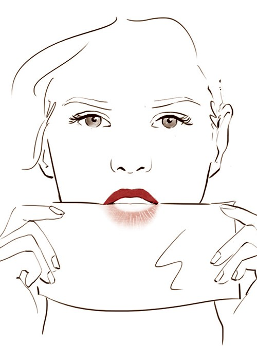 How to Apply A Classic Red Lipstick Like A Pro | BEAUTY/crew