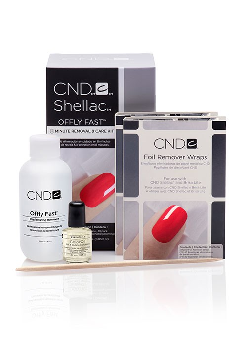 CND OFFLY FAST Replenishing Remover