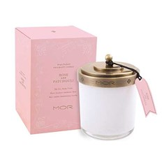 MOR Scented Home Library Fragrant Candle in Rose and Patchouli