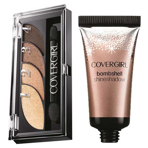 covergirl copper eye makeup