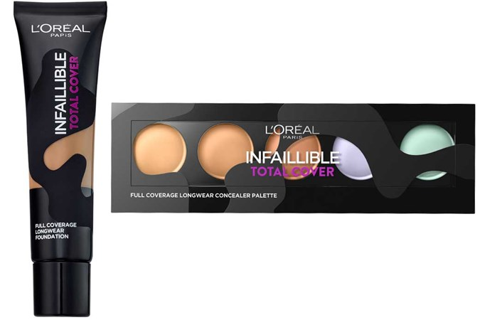 The L'Oréal Paris Infallible Total Cover range