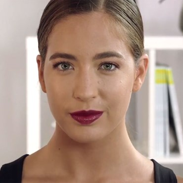 The steps to nailing the perfect burgundy makeup look