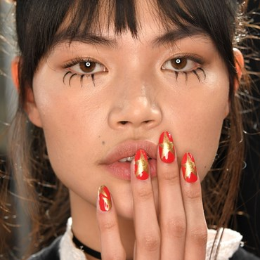 5 of the craziest nail looks from NYFW