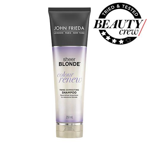 John Frieda Sheer Blonde Colour Renew Shampoo Review Beauty Crew