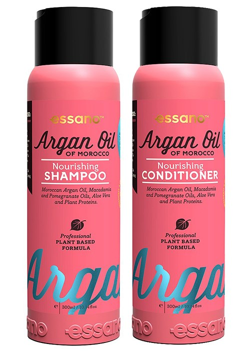 Essano Argan Oil Of Morocco Nourishing Shampoo and Conditioner