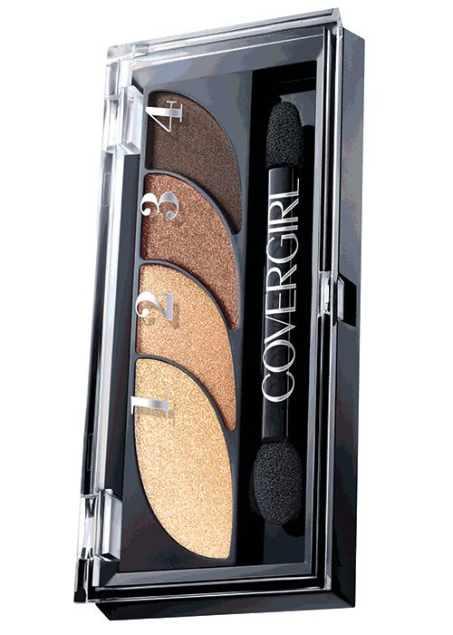 COVERGIRL Eye Shadow Quad in Go For Golds