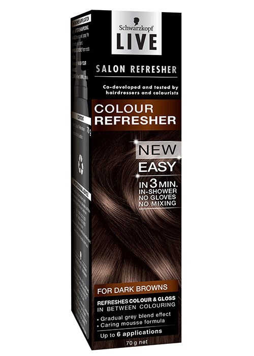Ways to boost the colour vibrancy of brunette hair for Salon schwarzkopf