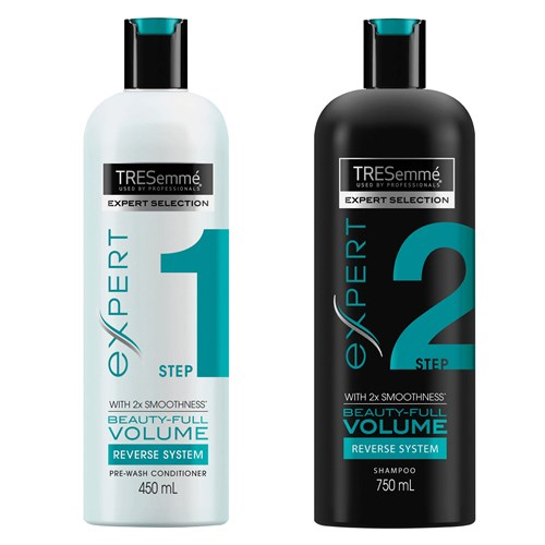 TRESemmé Beauty-Full Volume Pre Wash Conditioner and Shampoo