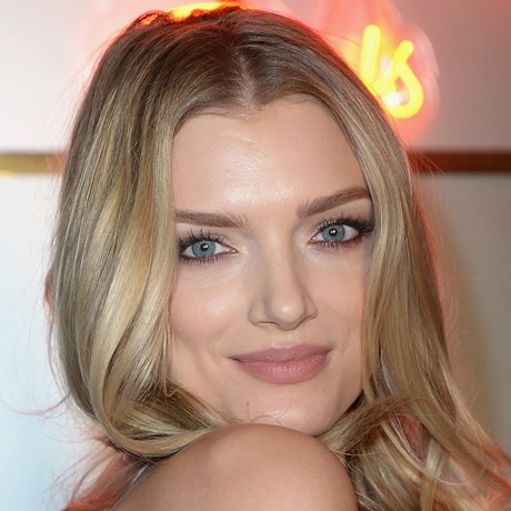 Lily Donaldson Blonde Brow Hair