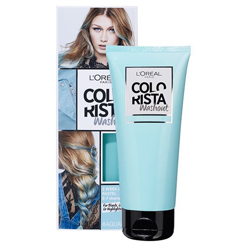 7e0807f7e38 L'Oreal Paris Colorista Wash Out is a temporary hair colour that lasts  between two and 15 washes. The wash-out formula has three conditioning  agents to ...