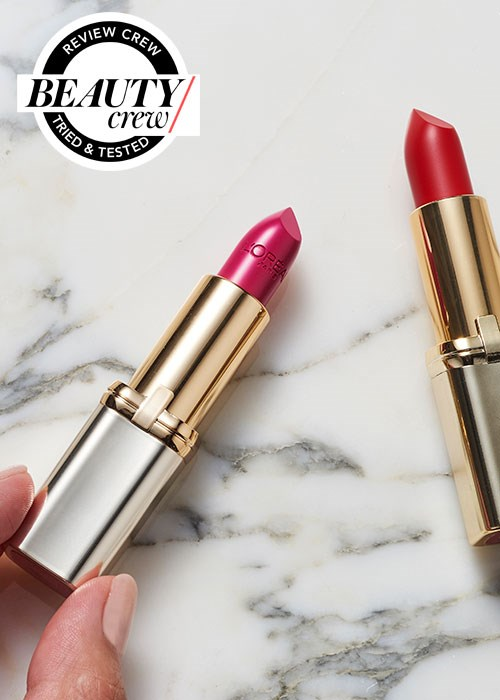 Loreal Colour Riche lipstick reviews