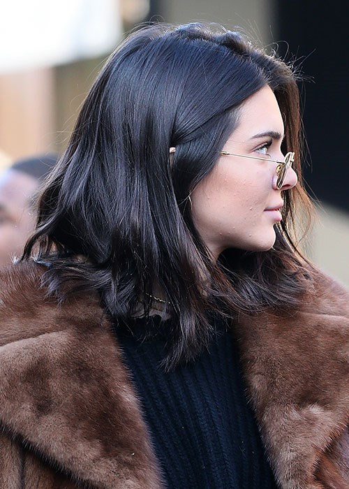 Kendall Jenner Uses This DIY Hair Mask | BEAUTY/crewKendall Jenner 2013 Hair