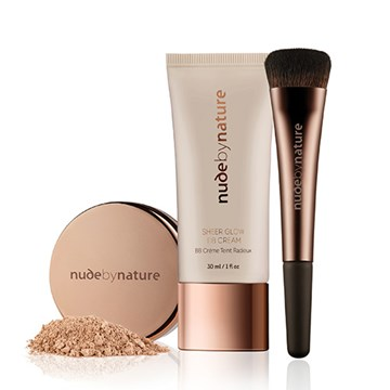 Nude by Nature Sheer Glow BB Cream Kit