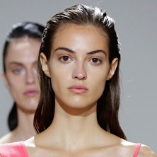 How-to: Slicked Back Hairstyle At Jason Wu SS17