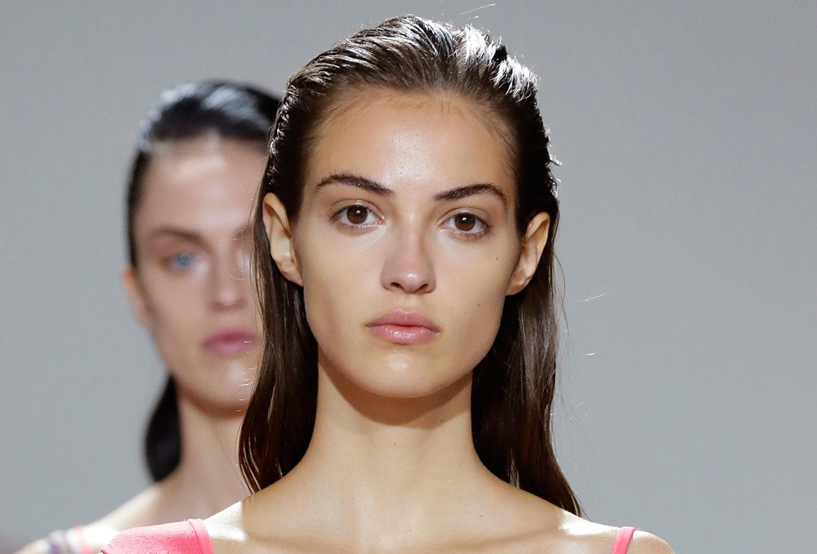 How To Slicked Back Hairstyle At Jason Wu Ss17 Beautycrew