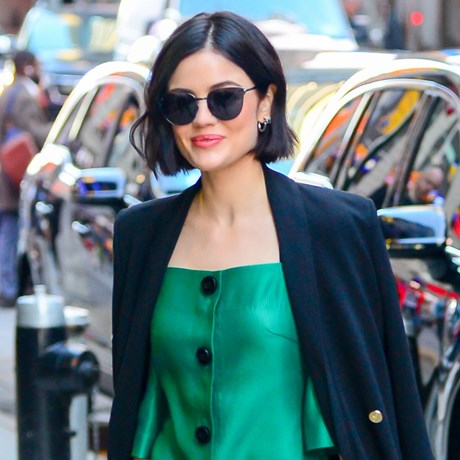 lucy hale short hairstyle