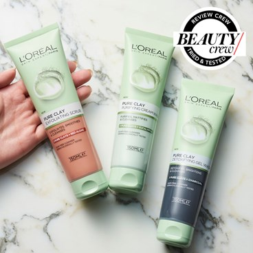 loreal pure clay cleanser reviews