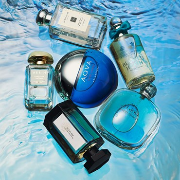 Fragrances Inspired By The Ocean