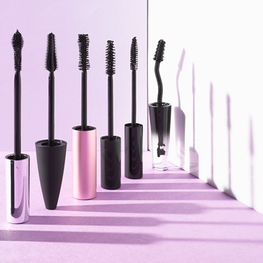 Mascara wand shapes