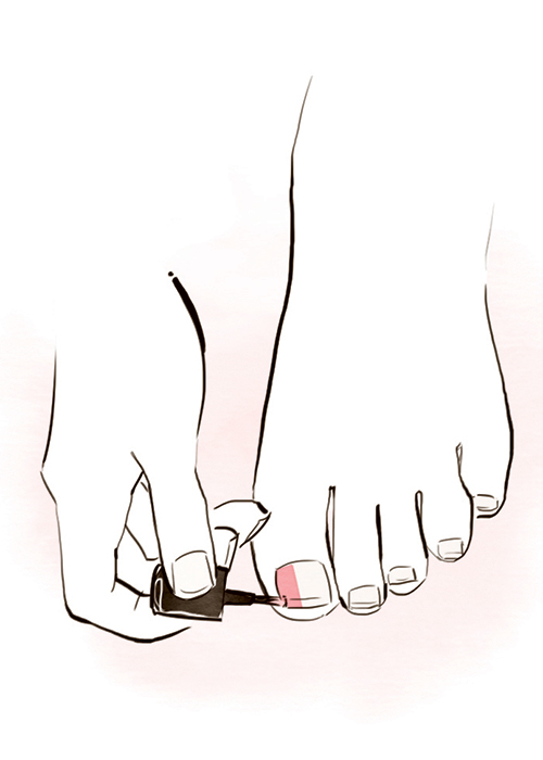 How To Diy Pedicure