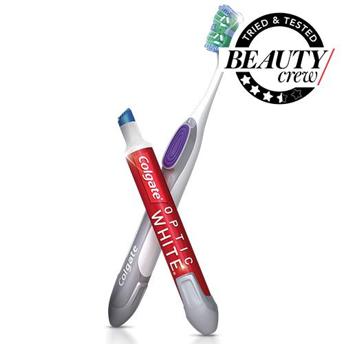 Colgate Optic White® Toothbrush + Whitening Pen Review