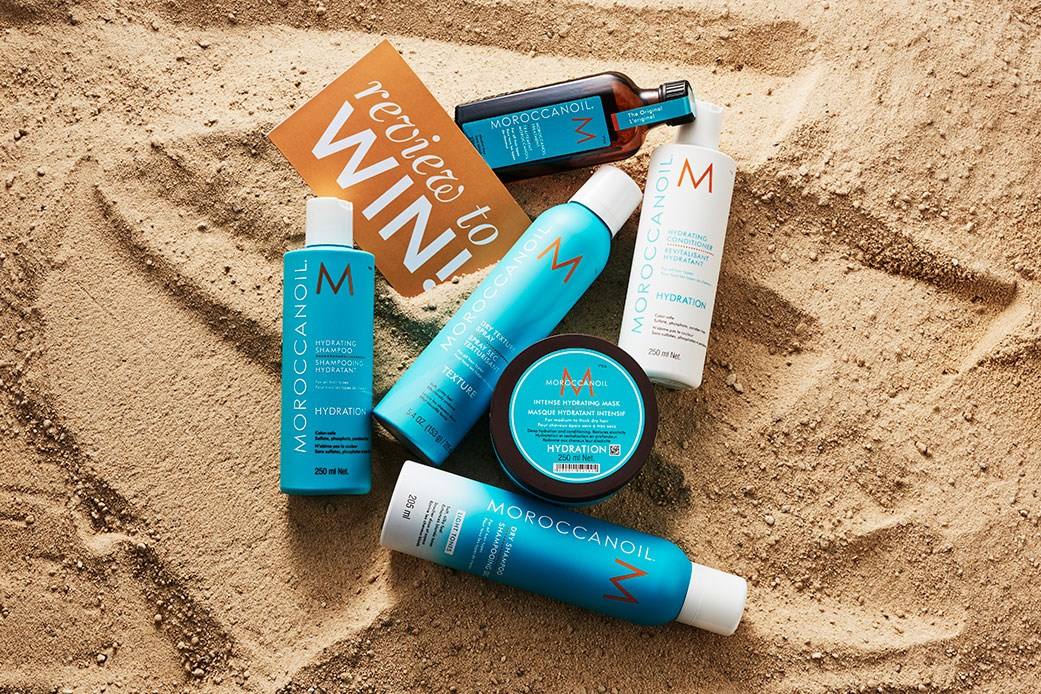 Moroccanoil prize pack