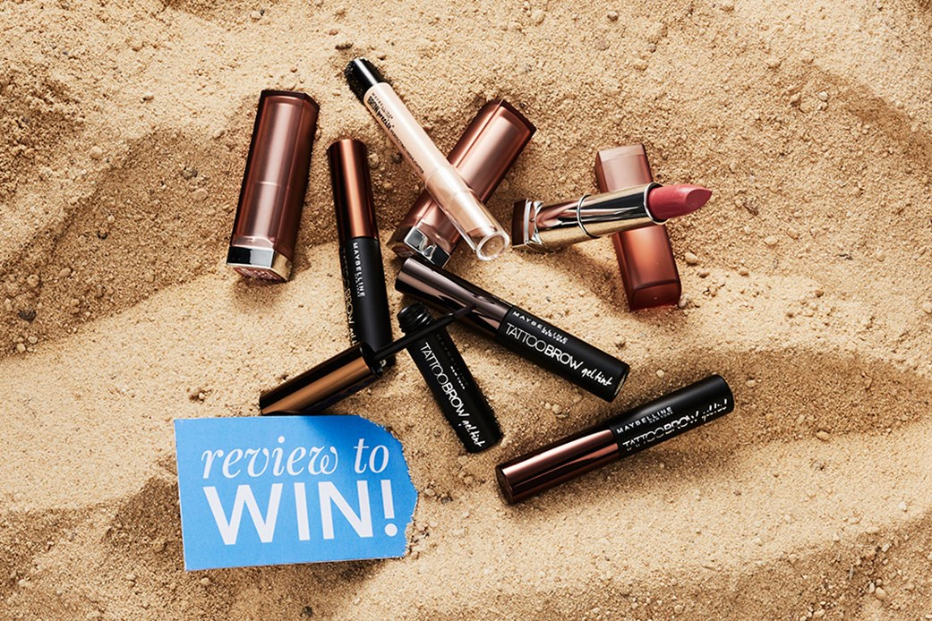 Maybelline New York prize pack