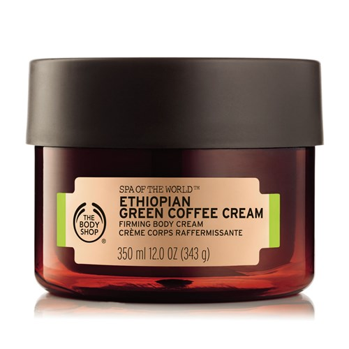 The Body Shop Spa Of The World Ethiopian Green Coffee Firming Body Cream