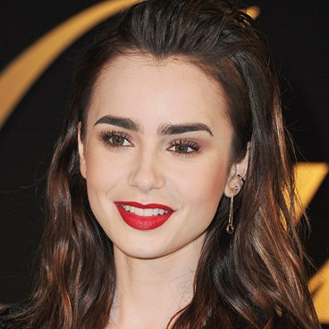 Simple Steps For Rocking A Bold Lip With Confidence - Lily Collins
