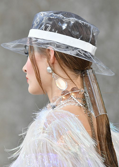 Vacuum Cleaner Was Used To Create The Hair At Chanel Fashion Show