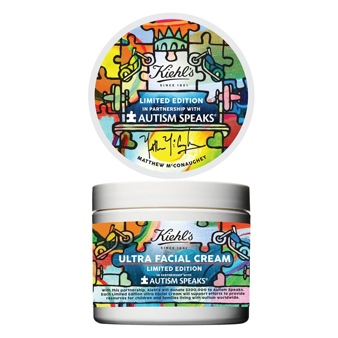 Kiehl's x Matthew McConaughey Limited Edition Ultra Facial Cream
