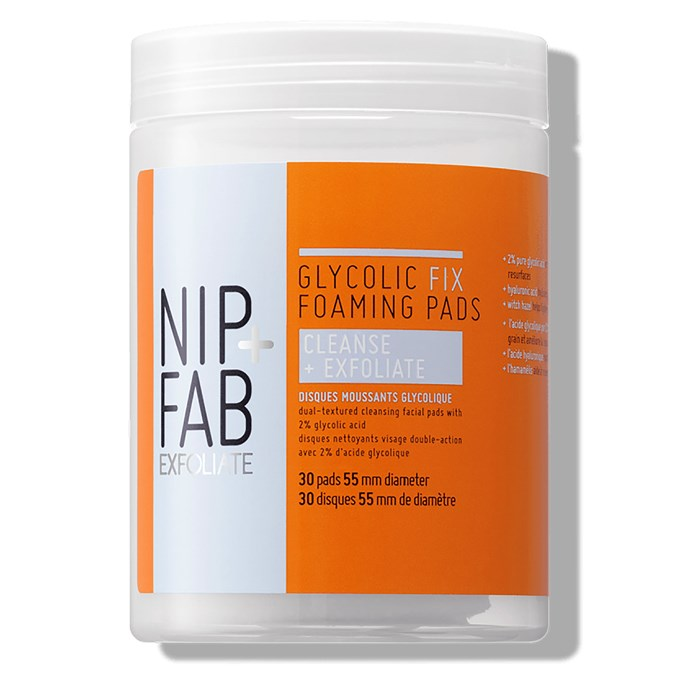 Nip + Fab Glycolic Fix Foaming Pads