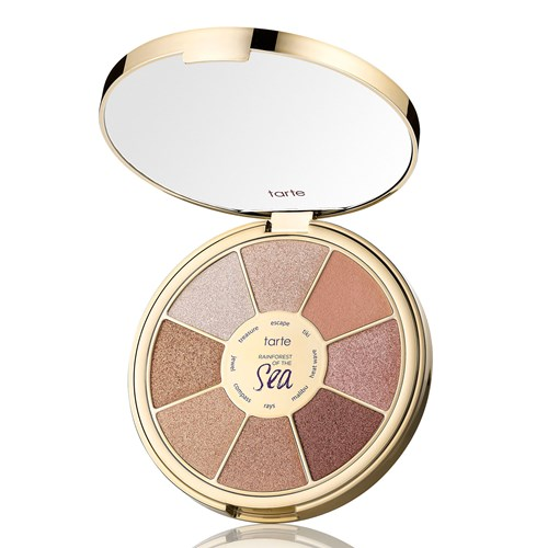 Tarte Rainforest Of The Sea Eyeshadow Palette in Vol. III Highlighting