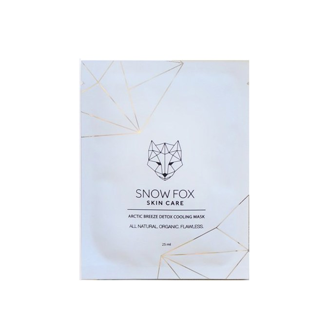 Snow Fox Skin Care Arctic Breeze Detox Cooling Mask