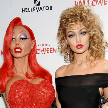 Gigi Hadid and Heidi Klum Halloween 2015