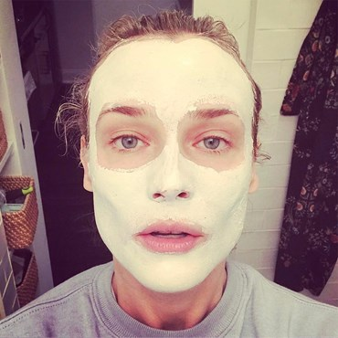 New Face Masks Your Skin Will Love - Diane Kruger