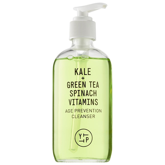 Youth To The People Kale + Green Tea Spinach Vitamins Age Prevention Cleanser