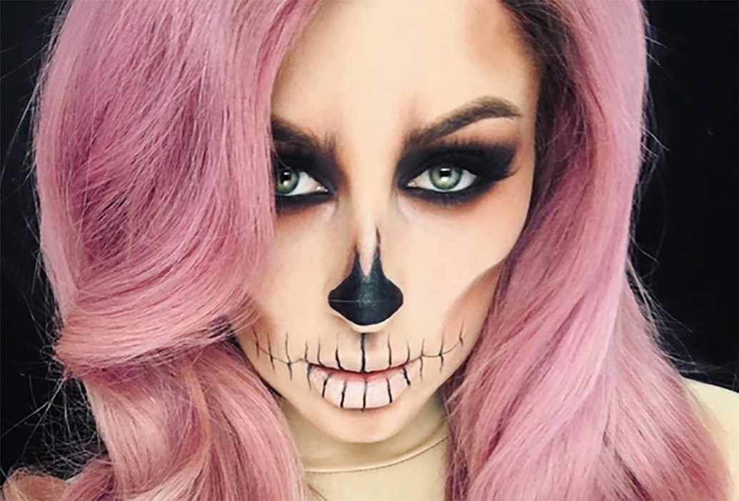 how to perfect 5 of 2017 s top halloween makeup looks beauty crew. Black Bedroom Furniture Sets. Home Design Ideas