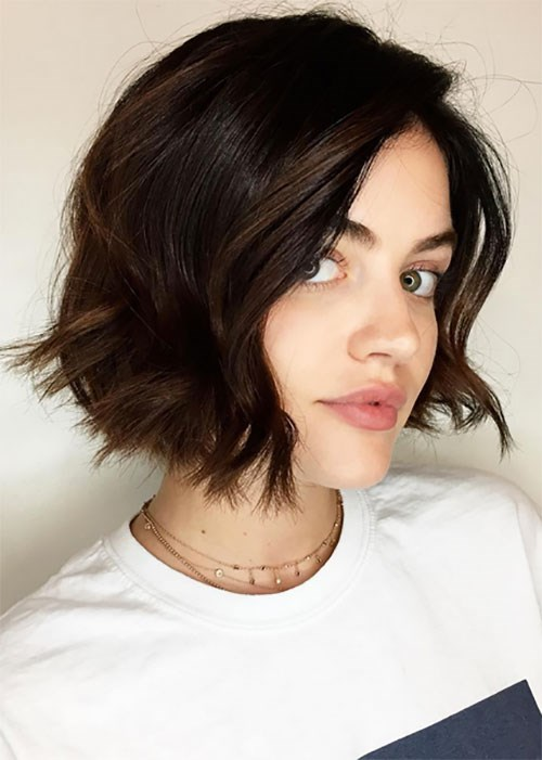 Lucy Hale curls