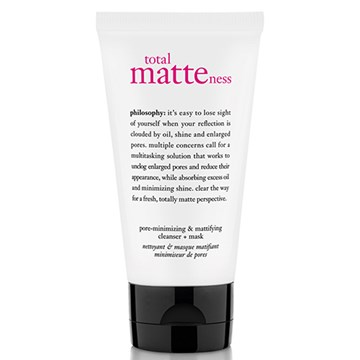 Philosophy Total Matteness Pore-Minimizing Cleanser + Mask