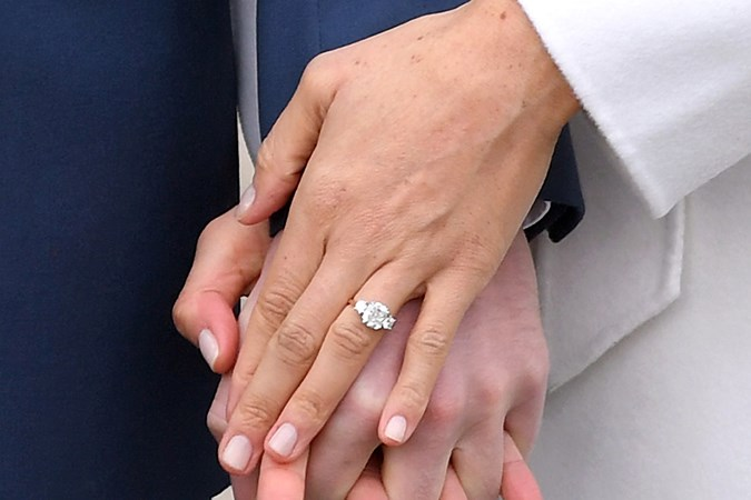 Meghan Markle\'s Engagement Announcement Nail Polish | BEAUTY/crew