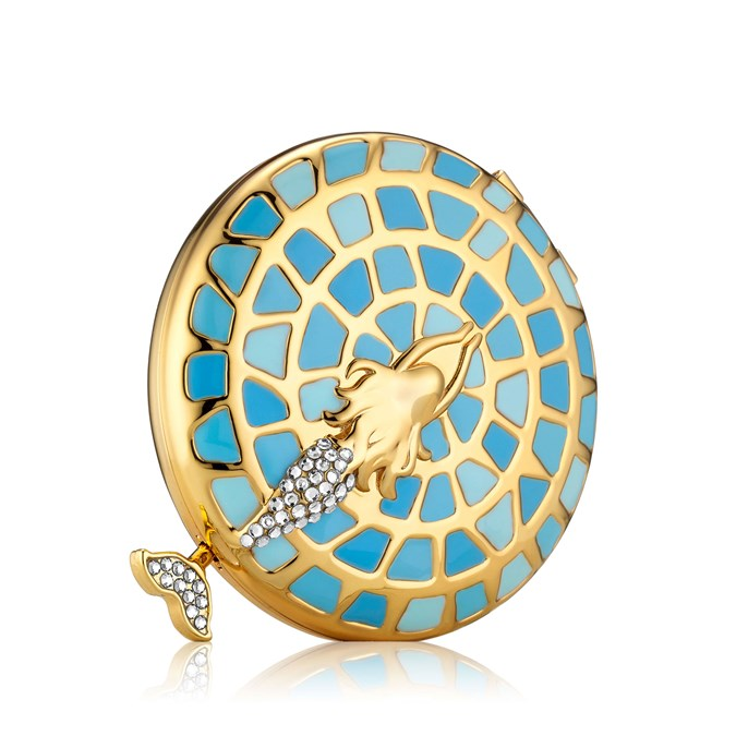 Estée Lauder Lady of the Sea Powder Compact by Monica Rich Kosann